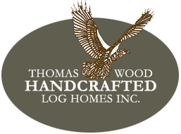 Thomas Wood Log Homes Logo Example of ALT tag